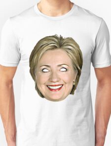 Evil Hillary Clinton Unisex T-Shirt