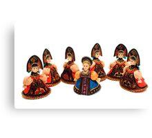 The Singing Dolls Canvas Print