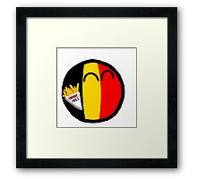 Belgiumball Framed Print