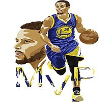 Stephen Curry - NBA Finals Photographic Print