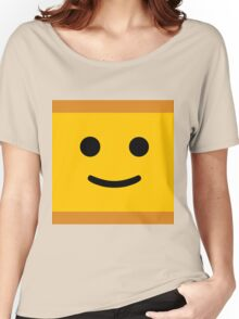 Happy Lego Face Women's Relaxed Fit T-Shirt