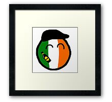 Irelandball Framed Print