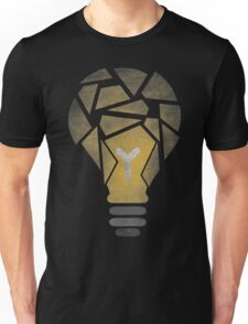 Shattered Lightbulb Unisex T-Shirt