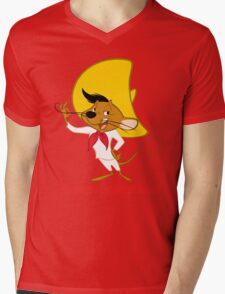 Speedy Gonzales Cartoon Mens V-Neck T-Shirt