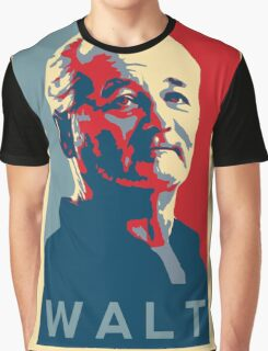 Bill Murray, Walter Gunderson, Parks and Rec Graphic T-Shirt