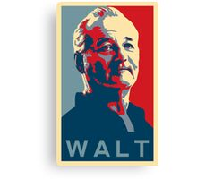 Bill Murray, Walter Gunderson, Parks and Rec Canvas Print