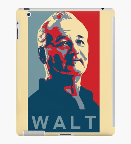 Bill Murray, Walter Gunderson, Parks and Rec iPad Case/Skin