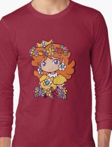 Flower Crown Princess Daisy Long Sleeve T-Shirt