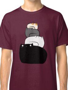 Cat Stack Classic T-Shirt