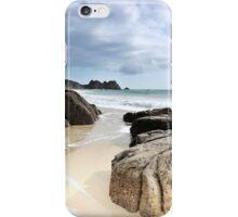 Porthcurno Beach iPhone Case/Skin