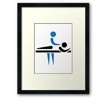 Physiotherapist Framed Print