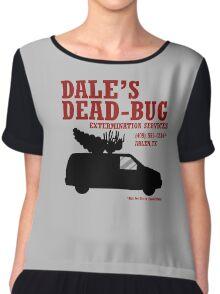 Dale's Dead-Bug Chiffon Top