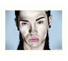 Tom Kaulitz Tokio Hotel Portrait Art Print