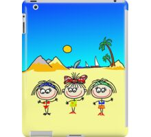 Funny people Girls and Boys iPad Case/Skin