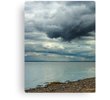 Impending Sea Storm Canvas Print