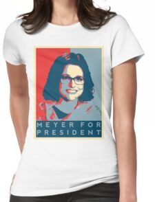 Meyer for President Womens Fitted T-Shirt
