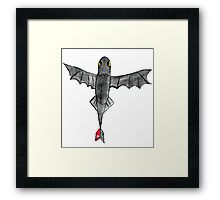 Watercolour Toothless Framed Print