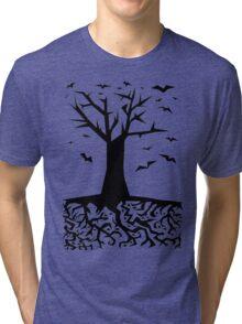 Deep Beneath The Earth Tri-blend T-Shirt