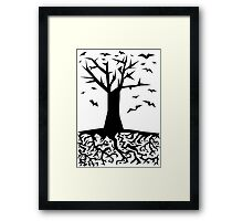 Deep Beneath The Earth Framed Print