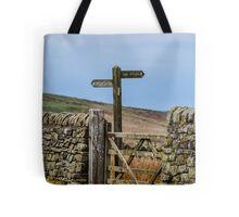 Public Bridleway Tote Bag