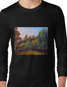 Weeping Willow Creek Long Sleeve T-Shirt