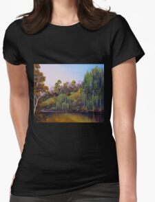 Weeping Willow Creek Womens Fitted T-Shirt