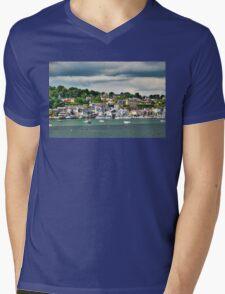 Kinsale Harbor Mens V-Neck T-Shirt