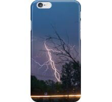 17th Street Thunder and Lightning iPhone Case/Skin
