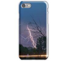 17th Street Thunder and Lightning iPhone Case/Skin