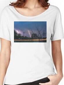 17th Street Thunder and Lightning Women's Relaxed Fit T-Shirt