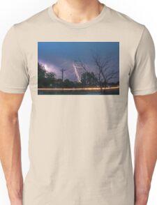 17th Street Thunder and Lightning Unisex T-Shirt