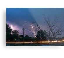 17th Street Thunder and Lightning Metal Print