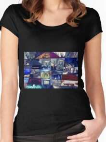 FIRE Puzzle Women's Fitted Scoop T-Shirt