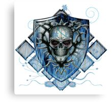 Deathly Blue Canvas Print