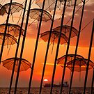 Sunset in Thessaloniki by Hercules Milas