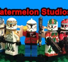 Watermelon Studios Channel Art Sticker