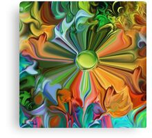 Harmony- Abstract 46+Clothing+Products Design Canvas Print