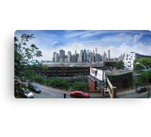 View from the Brooklyn Heights Promenade Canvas Print