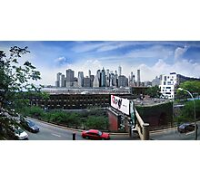View from the Brooklyn Heights Promenade Photographic Print
