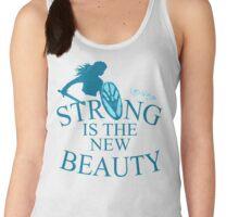 strong is th new beauty - shieldmaiden Women's Tank Top