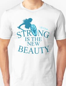 strong is th new beauty - shieldmaiden Unisex T-Shirt