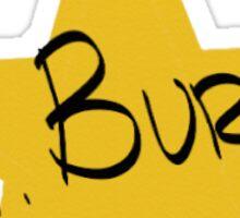 Aaron Burr Sticker