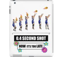 MR. 0.4 SECONDS SHOT  iPad Case/Skin