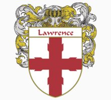 Lawrence Coat of Arms/Family Crest Kids Tee