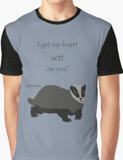 Sett On You - Badger Graphic T-Shirt