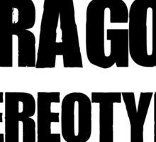 Misunderstood Dragons Sticker