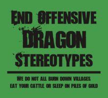 Misunderstood Dragons Kids Tee