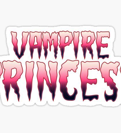 Vampire Princess Sticker