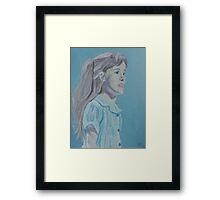 Clara - Matilda the Musical Framed Print
