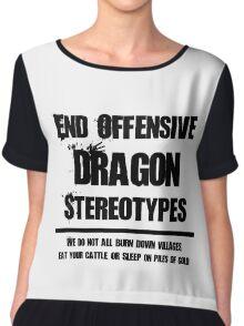 Misunderstood Dragons Chiffon Top